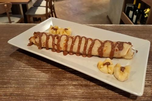 Палачинка със шоколад и банан