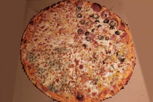 Пица Комбо - четири пици в една
