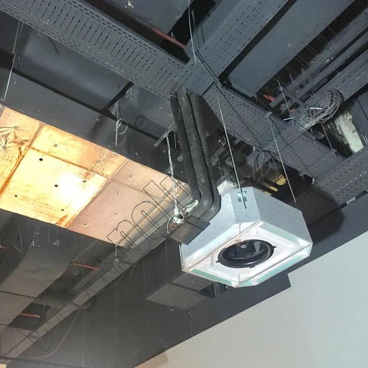 Централна климатизация и вентилация за Билла - Park Center Sofia