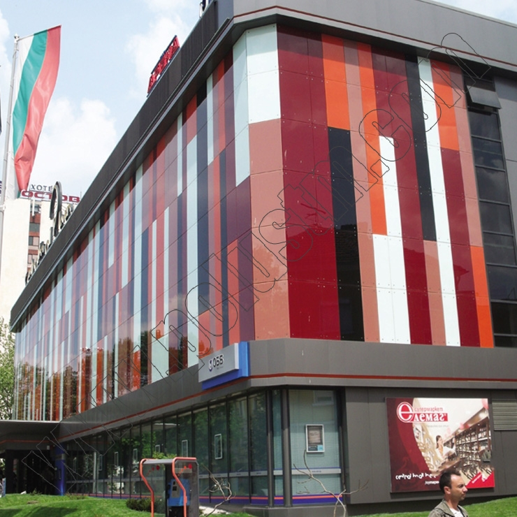 Централна вентилация и климатизация на търговски център Centrall Mall Pleven и банков клон на ОББ